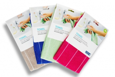 4-Pack Microfiber Towel